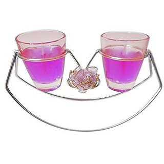 Sky Trends Home Decor Diwali Tlight Candles With Stand St-01