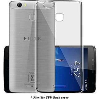 ECS Transparent Soft Back Case Cover For Swipe Elite Pro