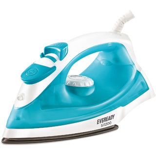 Eveready SI1200 Watt Steam Iron with Steam control