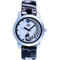 Black Beauty Peacock Design SCK Analogue Wrist Watch Fo