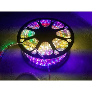 Snap light 5 meter waterproof led rope light multicolor with snap light 5 meter waterproof led rope light multicolor with blinking adapter aloadofball