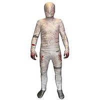 Mummy Kids Morphsuit Fancy Dress Costume - Size Large 4