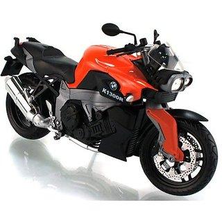 Buy 1 12 Bmw K1300r Diecast Motorcycle Model Orange Color By Automax