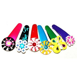 Designer Hairclips combo Set of 6 by Vidyawati