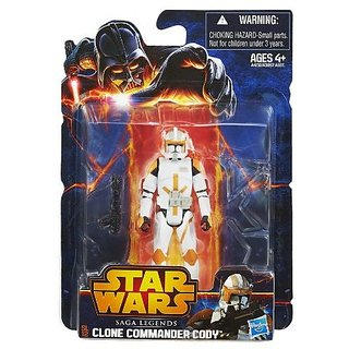 Star Wars, Saga Legends 2013 Action Figure, Commander Cody, 3.75 Inches