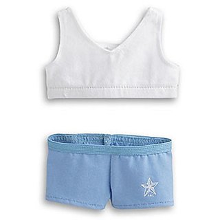 American Girl Sports Top & Brief Set (DOLL NOT INCLUDED)