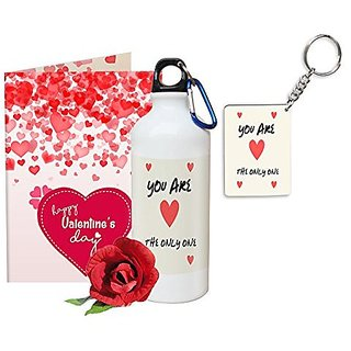 Buy Sky Trends Valentine Gifts Rose With Greeting Card Girlfriend