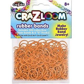 The Cra-Z-Art Shimmer N Sparkle Cra-Z-Loom Fashion Colors Rubber Band Refills - Orange