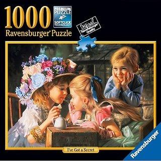 Ravensburger Ive Got A Secret Jigsaw Puzzle 1000 Pieces