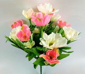 S N ENTERPRISES SNE5023 PINK FLOWER BUNCH