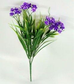 S N ENTERPRISES SNE5040 BLUE PLASTIC FLOWER BUNCH