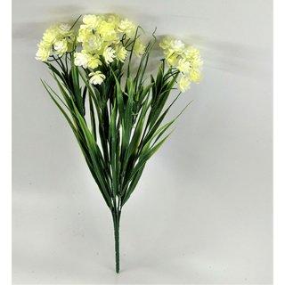 S N ENTERPRISES SNE5040 GREEN PLASTIC FLOWER BUNCH