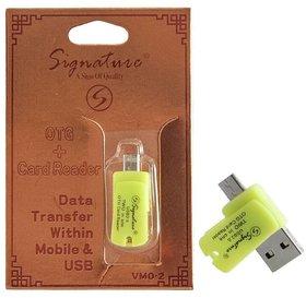 VMO-1 OTG  Card Reader Data Transfer within Mobile  USB