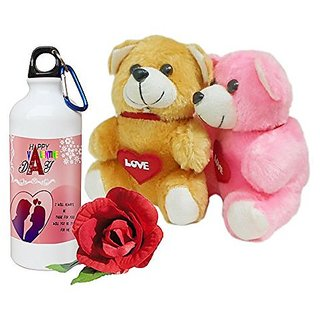Sky Trends Best Valentine Surprise Gifts Couple Teddy Gifts with Printed Mug and Rose Propose Day Gifts, Rose Day Gifts Wife Gifts, Girlfriend Gifts,Husband Gifts,Boyfriend Gifts Anniversary Gifts DS232