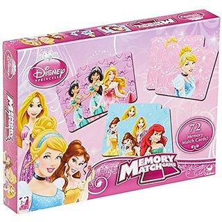 Disney Princess Memory Match Game