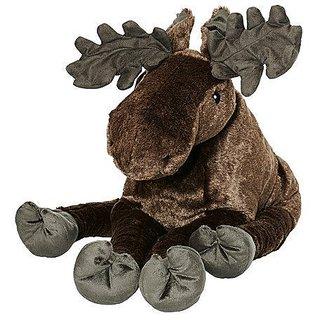 "Ikea Strova 20"" Big Swedish Elk Wildlife Stuffed Animal Childrens Soft Toy Play"