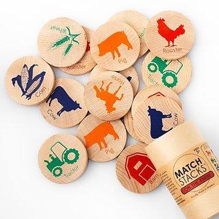 Tree Hopper Toys On The Farm Match Stacks
