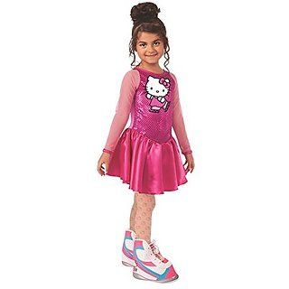 Hello Kitty Figure Skater Costume, Child Medium