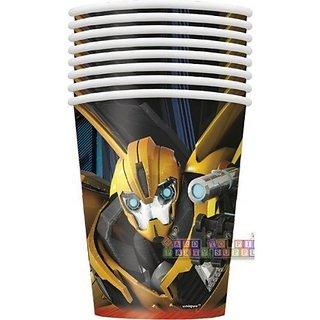 8 Transformers 9oz Cups