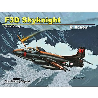 Squadron Signal Publications F3D Skyknight in Action Book