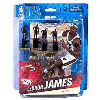 McFarlane Toys NBA Sports Picks Collectors Club Exclusive Action Figure LeBron James (Miami Heat) 2x