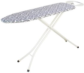 Eurostar Queen Ironing Board 110 x 33 cms Black Flower