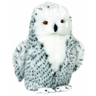 Nat and Jules Plush Toy, Snowy Owl Large
