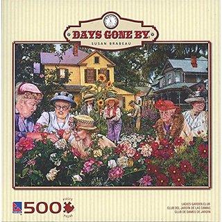 Days Gone By - Susan Brabeau - Ladies Garden Club - 500 piece Puzzle