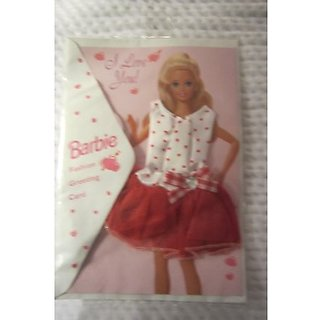 Barbie Fashion Greeting Card Valentines Day