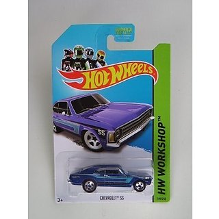 Chevrolet SS (Blue) Diecast Car (Hot Wheels)(2013)