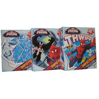 Marvel the Ultimate Spider-Man 48 Piece Shaped Puzzle (variety 3 pack)