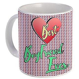 Best Boyfriend Ever Ceramic Mug Gift For Very Special day Valentine Day Design (68)
