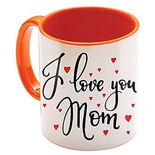 Sky Trends Mom gift For Mothers Day Birthday Gift For Mother Best Gift For Mother Printed Orange Coffee mug Best Gift For Mummy
