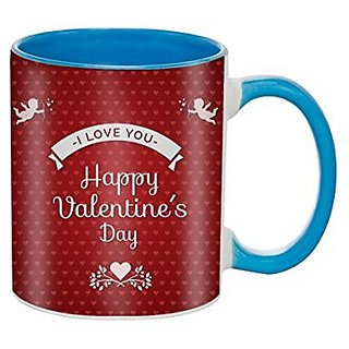First Valentine Day Gifts Combo gift For Husband Gift For Boyfriend Gifts For Valentine Gift For Him Special Design, Gift For anniversary Gift For Her Gifts For Brother Lovers Gift Gift For husband gift For Wife Gift For Friend Valentine Gift Set Blue Mug