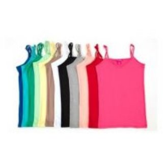 Multicolor 8 pc Cotton Camisole For Girls(Hosiery Material)