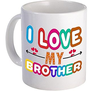 Buy I Love My Brother Gift For Birthday Anniversary Online 229 From ShopClues