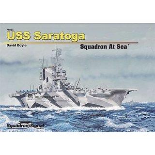 Squadron Signal Publications Uss Saratoga Squadron At Sea Book