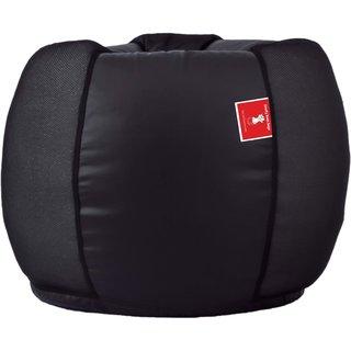 Comfy Bean Bags - Bean Bag - Cross Net - Size Xxl - Filled With Beans Filler - Net Black