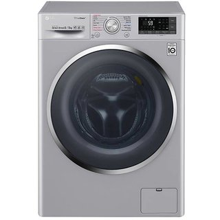 LG F4J7THP2S 8KG Fully Automatic Front Load Washing Machine