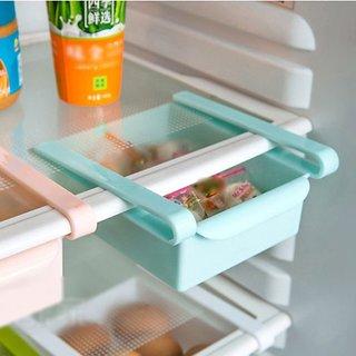 Multi Purpose Plastic Storage Rack Organizer for Refrigerators (1pcs)