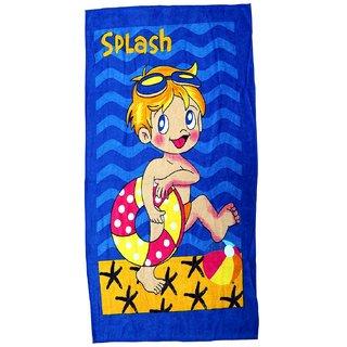 BcH Cotton Baby Towel Set of 1(Multicolor)