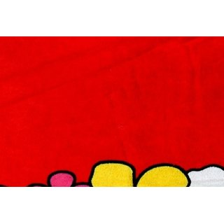 BcH Cotton Baby Towel Set of 1 (Multicolor)