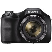 Sony Cyber-shot DSC-H300/BC E32 point  Shoot Digital camera (Black)35x optical zoom with Power charger,8GB Memory Card  Camera Case