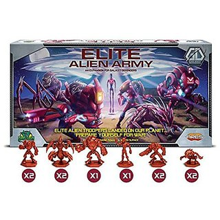 Galaxy Defenders Elite Alien Army Board Game