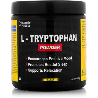 Healthvit Fitness L-Tryptophan Powder 100GMS