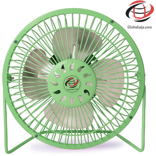 7 inches Green USB Powered Fan(Sameeran)
