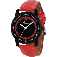 Jack Klein Red And Black Collection Analog Watch For Me