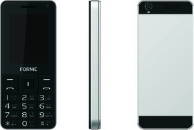 Forme F Fone Feature Mobile Phone-BLACK(Selfie Camera/2