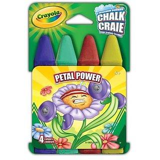 Crayola Petal Power Sidewalk Chalk