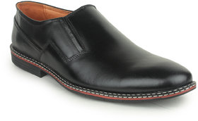 Kennady Men's Black Slip On Casual Shoes